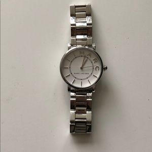 Marc Jacobs Silver Chain Watch